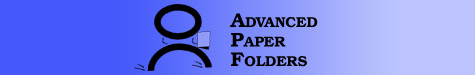 Advanced Paper Folders